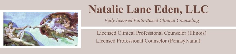 Natalie Lane Eden, MBA, MA, LCPC - Practical Faith-Based Clinical Counseling Services